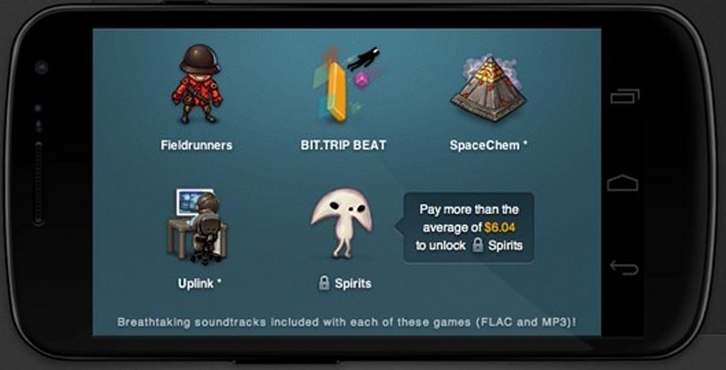 Humble Bundle for Android (and PC, Mac, and Linux) bundles Bit.Trip Beat, Fieldrunners and more
