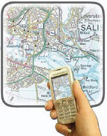 Map Snapper brings interactive maps to cellphones the hard way