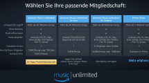 Amazon Music Unlimited in Deutschland gestartet