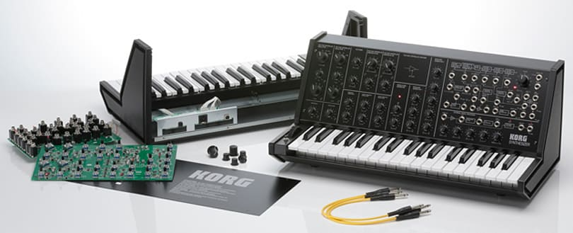 Build your own analog synthesizer with Korg's MS-20 kit