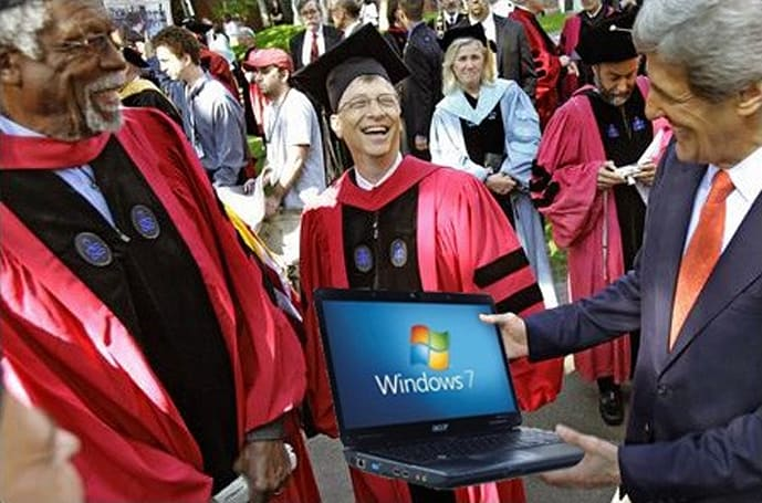 Bill Gates expects the web to be the best single source of education within 5 years