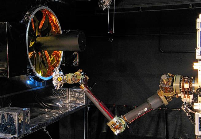 How the Navy's orbiting robots will refurbish civilian satellites