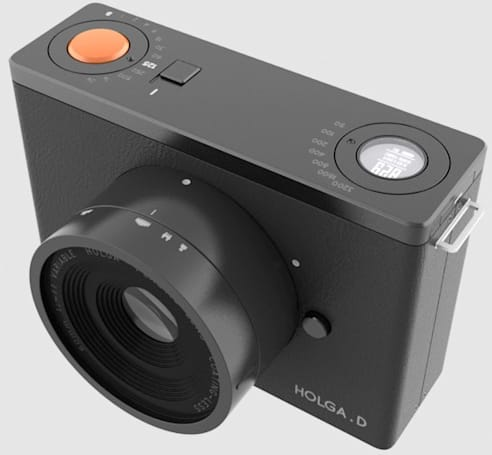 Holga.D concept is the modernized toy camera of your joyful youth