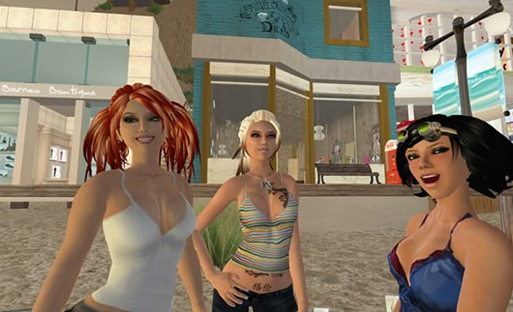 Second Life used to teach relaxation techniques