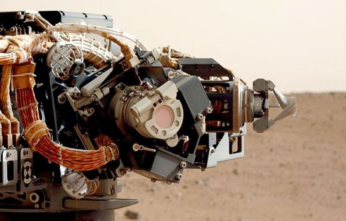 Curiosity rover starts light robotic arm workout in preparation for scientific main event