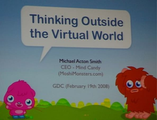 GDC08: Thinking outside the virtual world