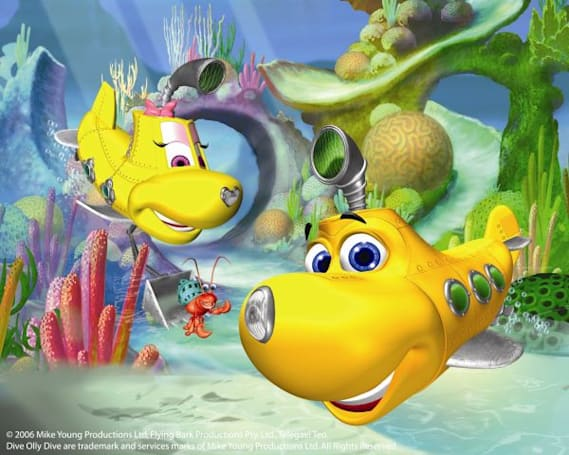 PBS Kids Sprout nabs HD cartoon Dive Olly Dive