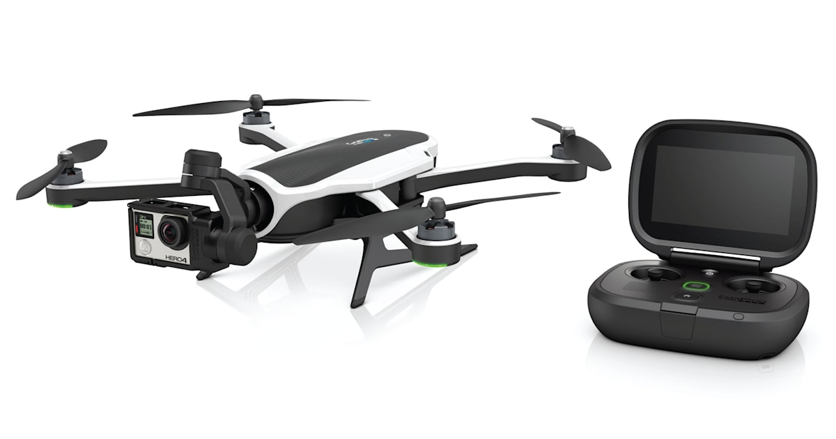 This is GoPro's $799, foldable Karma drone