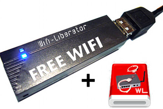 WiFi Liberator beams pay-per-use access to others gratis