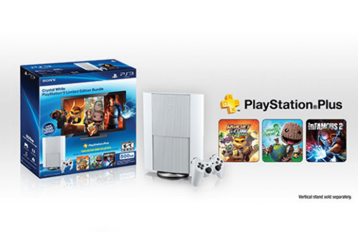 'Classic White PS3 Instant Game Collection Bundle' coming to America, includes year of PS Plus
