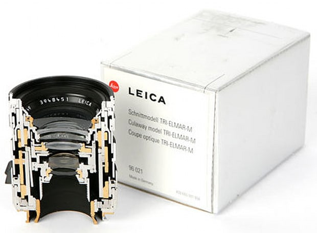 $4,000 Leica lens split in two, sold on eBay as $1,000 piece of art