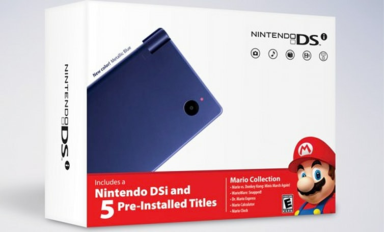 Nintendo launching Limited Edition DSi bundles featuring Mario, 'brain teaser' DSiWare packs