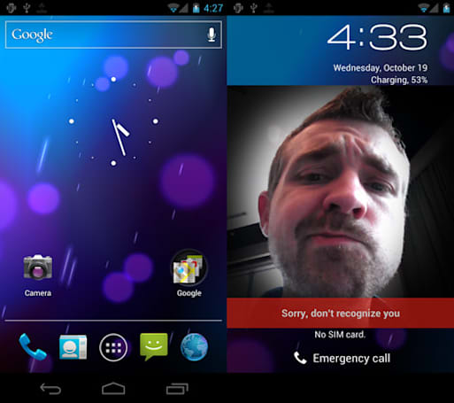 Google Ice Cream Sandwich (Android 4.0): a hands-on screenshot gallery