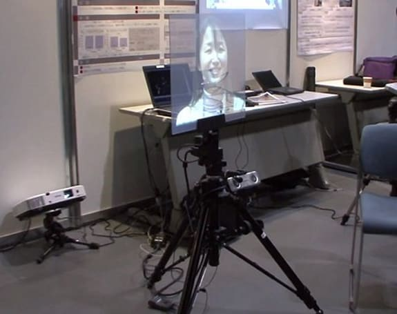 NTT forces you to pay attention during a video conference (video)
