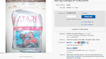 Atari 'E.T.' cartridges unearthed in landfill go up for auction on eBay
