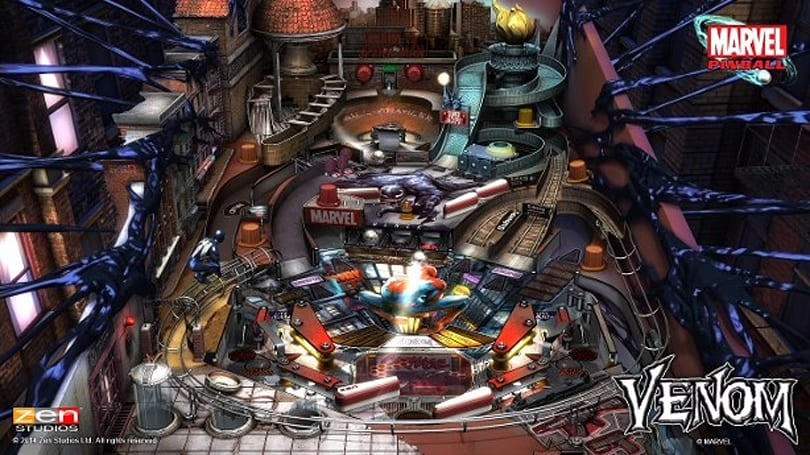 Marvel's Venom infects Zen Pinball games next month
