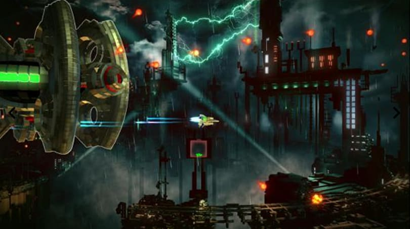 Resogun sets course for PS Vita