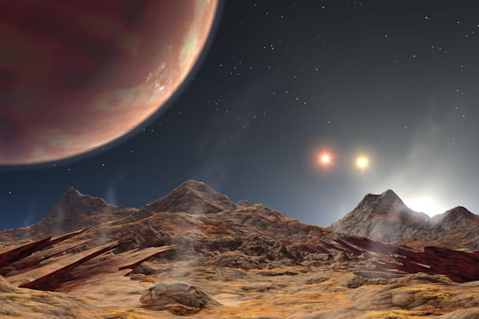 Scientists find rare 3-star system with a hot Jupiter-like planet