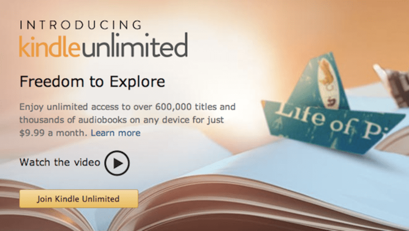 Amazon testing Netflix-style subscription service for e-books