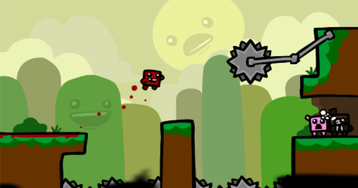 Image result for Super Meat Boy Mobile
