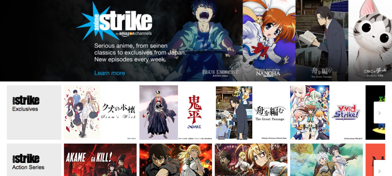 Amazon debuts anime streaming subscription for Prime members