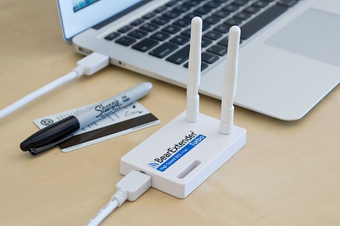 BearExtender Turbo starts shipping today for $80, brings 802.11ac WiFi to older Macs