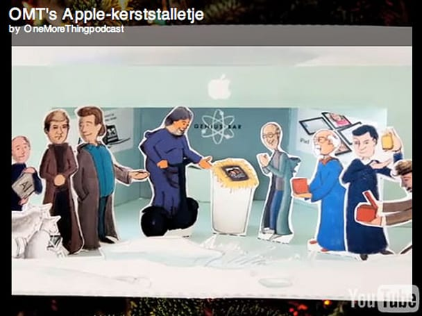 Make a free Apple-oriented Christmas Creche
