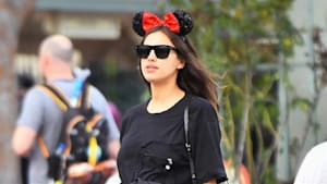 Irina Shayk Goes To Disneyland Without Bradley Cooper