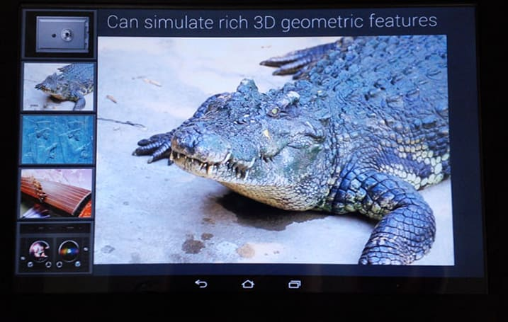 Fujitsu plans to launch feel-o-vision haptic tablets by 2015