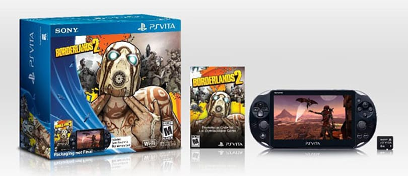 PS Vita Borderlands 2 bundle $170 at GameStop, Amazon