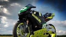 Ecotricity looks to break 100 mph barrier with Ion Horse electric bike, at Isle of Man TT (video)