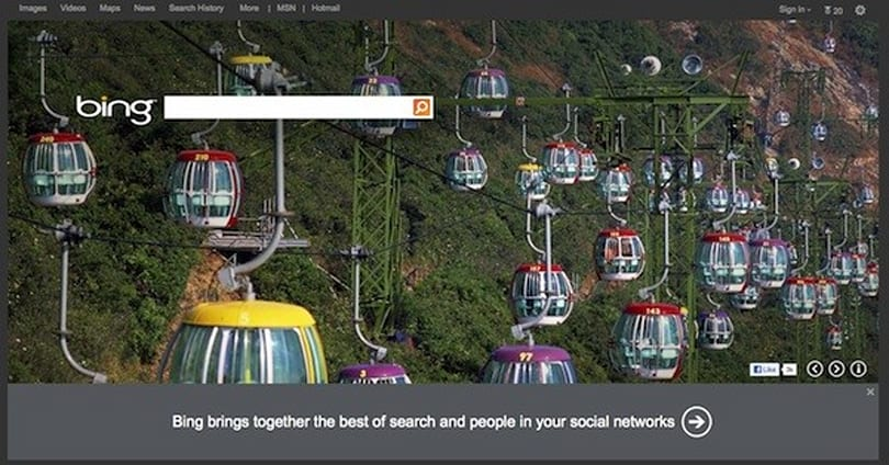 Bing now more social in the US, hopes you 'like' it and tweet about it