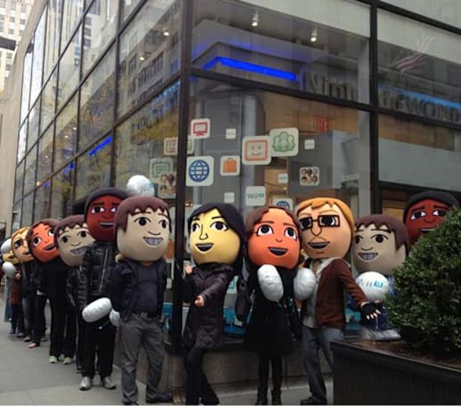 Wii U gets midnight launch at Nintendo World Store on November 18th