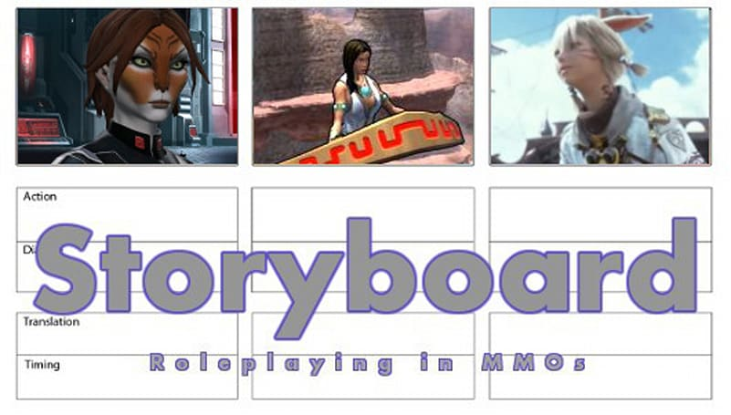 Storyboard: Both sides of roleplaying