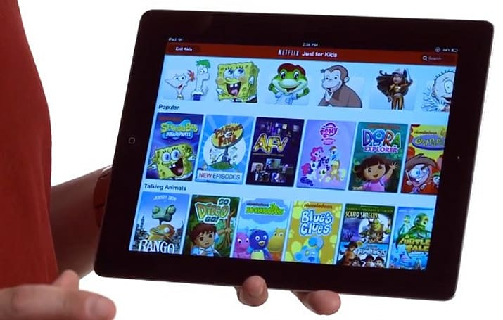 Netflix Just for Kids comes to iPad, keeps Dora exploring beyond the TV (video)