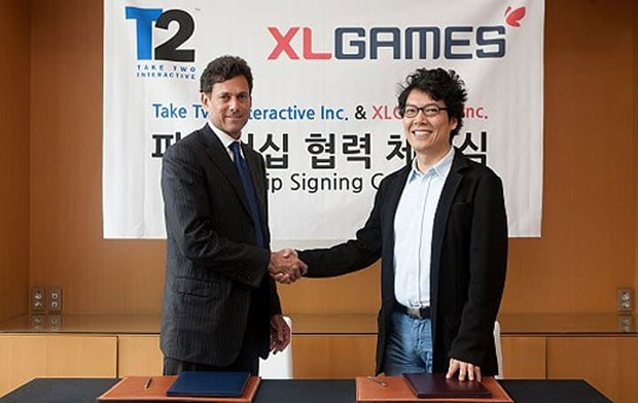 Take-Two signs with XLGames to make existing property into an MMO
