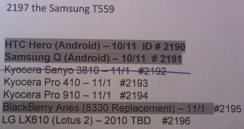 HTC Hero coming October 11th to Sprint?
