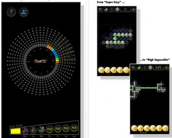 Daily iPhone App: QatQi is a free word game that's different enough to try