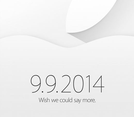 Apple sends out official invitations for Sept. 9 event