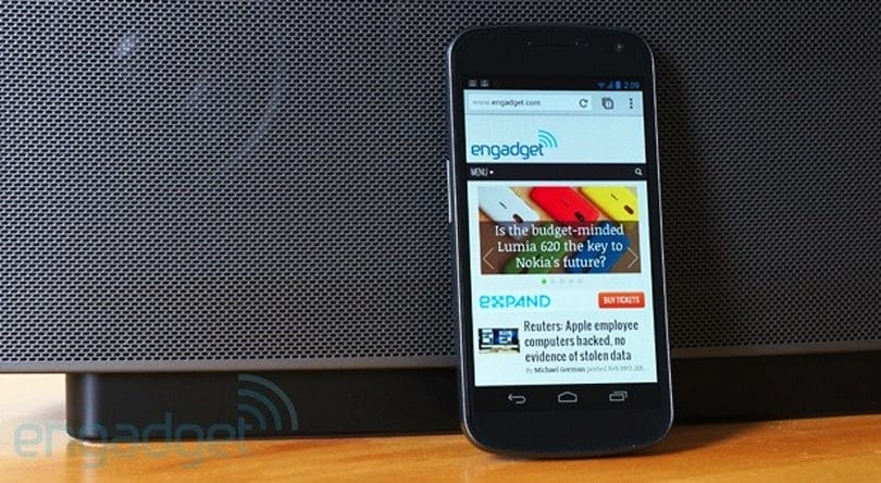 Google Chrome 25 for Android arrives with background audio