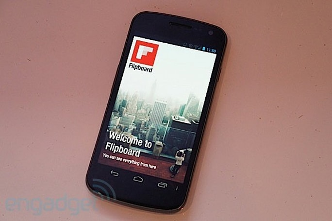 Flipboard for Android 'liberated' from Galaxy S III demo unit, available for all