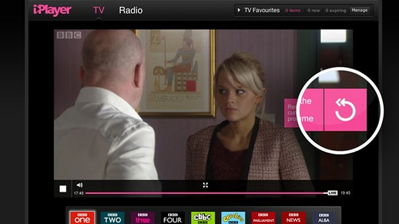BBC 'Live Restart' brings pause, rewind and 'start from beginning' to iPlayer live streams