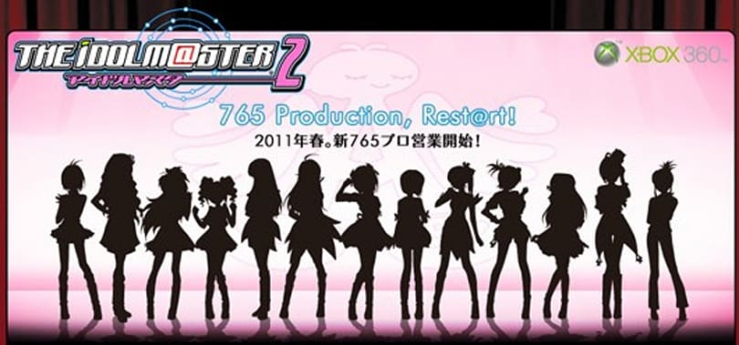 Idolmaster 2 announced for Xbox 360, coming in 2011