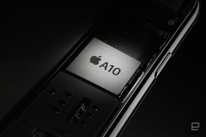 Apple unveils its quad-core A10 Fusion chip