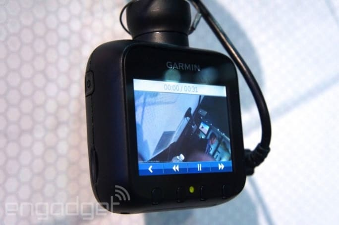 Hands-on with the Garmin Dash Cam