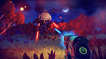 Take a look at how 'No Man's Sky' handles combat