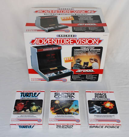 Extremely rare Adventure Vision system up on eBay