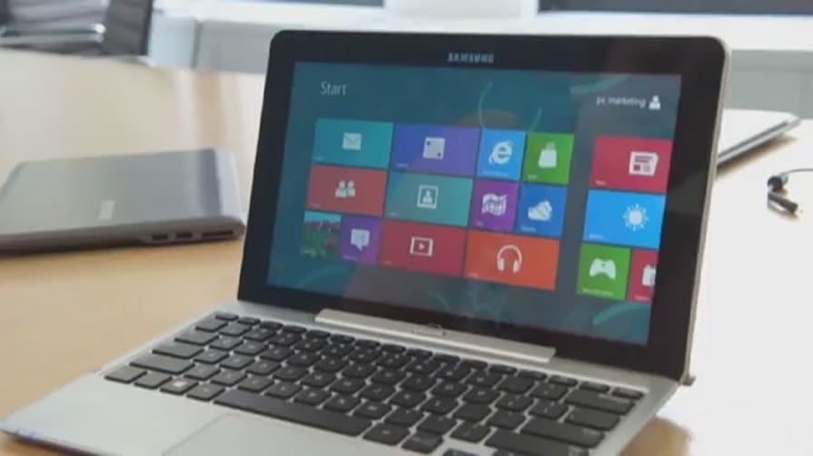 Samsung Series 7 Slate Hands-on (2012)