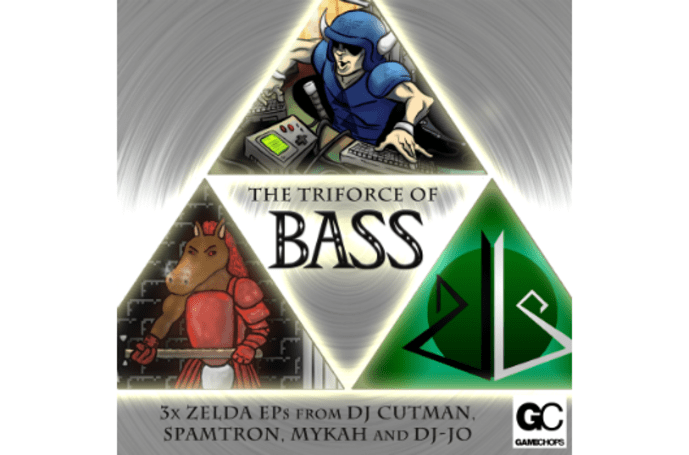 'The Triforce of Bass' is three pay-what-you-want Zelda remix EPs
