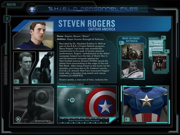 The Avengers Initiative Second Screen app goes live on iTunes in time for Comic-Con